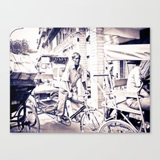 Mr RickShaw Canvas Print