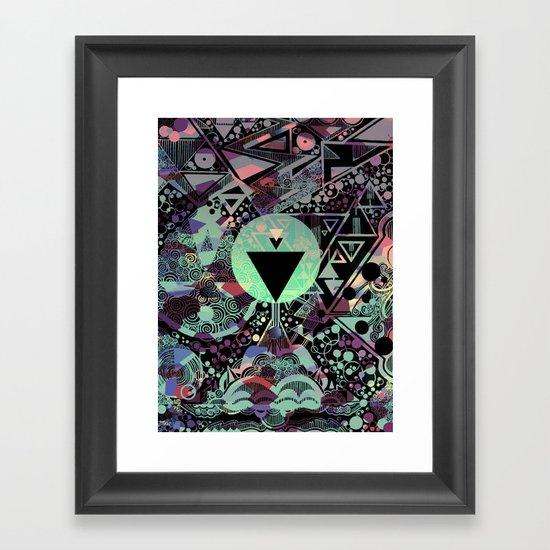 Vulcan Framed Art Print
