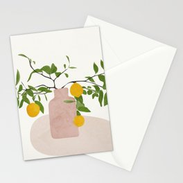 Lemon Branches Stationery Cards