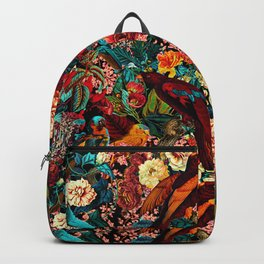 FLORAL AND BIRDS XVII Backpack