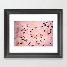 Flying South Framed Art Print