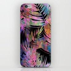 Waikiki Tropic {Black} iPhone & iPod Skin