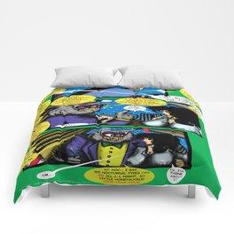 Bird of Steel Comix – 6 of 8 (Society 6 POP-ART COLLECTION SERIES)   Comforters