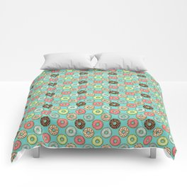 Donuts pattern Comforters