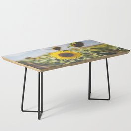 Allora | Sunflowers Coffee Table