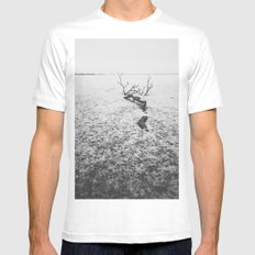 Branch Mens Fitted Tee White MEDIUM