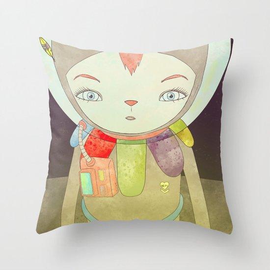 탐사 TO YOUR HEART TO THE MOON Throw Pillow