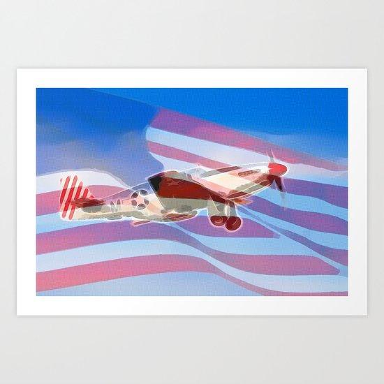 American Pride Art Print