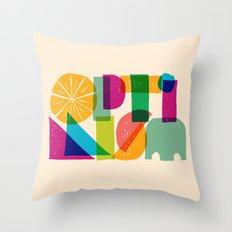 Optimism Throw Pillow