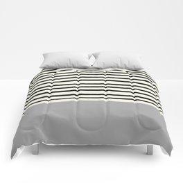 Storm Grey x Stripes Comforters