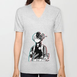 Shoto Todoroki Design Unisex V-Neck