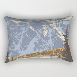 Banff National Park Rectangular Pillow
