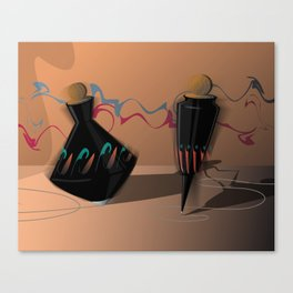 When Tops Dream of Dancing Canvas Print