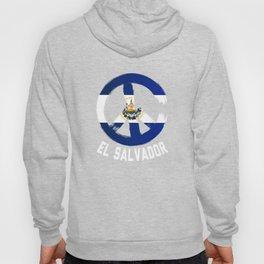 El Salvador Peace Sign T Shirt Hoody