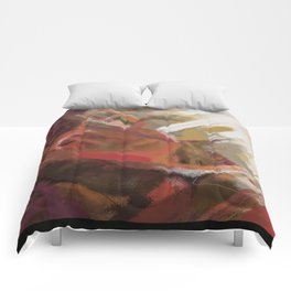 Abstract landscape 9 Comforters