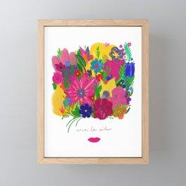 Viva La Vida Framed Mini Art Print