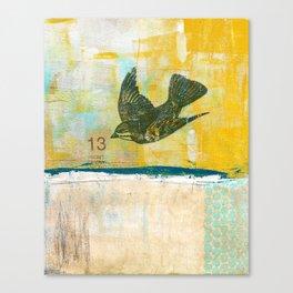Lucky No. 13 Canvas Print