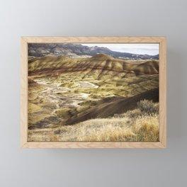 Spanning Time Framed Mini Art Print