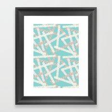 Washi [Green] Framed Art Print