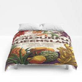 Vintage poster - Queensland Comforters