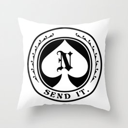 Send it 2.0 Throw Pillow