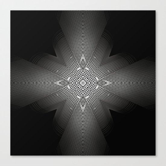 The combination of a situation. Canvas Print