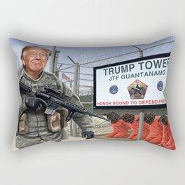 Trump Towers Rectangular Pillow