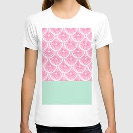 Zesty splice - pink grapefruit T-shirt