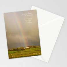 Be the Rainbow Stationery Cards