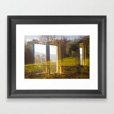 Wicklow Window  Framed Art Print
