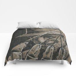 Freddy Krueger (DRAWLLOWEEN 14/31) Comforters