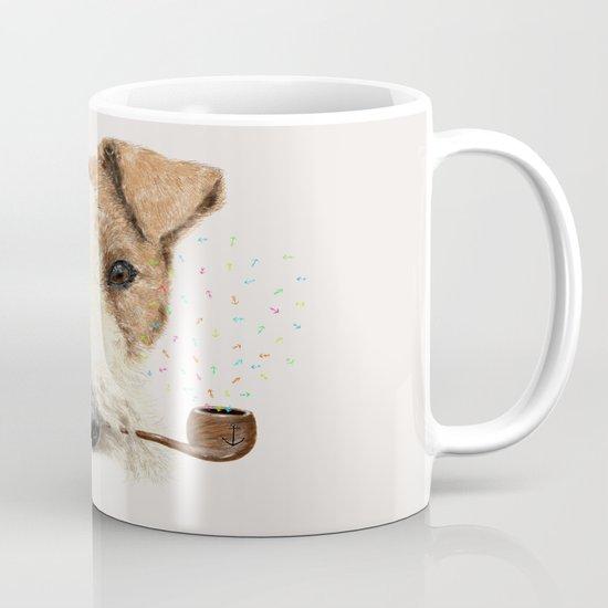 fox terrier sailor Mug