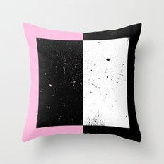 Duel Space Throw Pillow