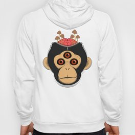 3rd Eye Chimp & Psychedelic Mushrooms Hoody