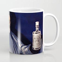 1924 - Leonetto Cappiello - Alcool de menthe de Ricqlès - Chinese man on blue background - Alcohol mint Coffee Mug