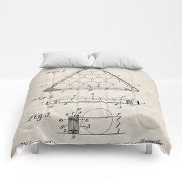 Pool Patent - Billiards Art - Antique Comforters