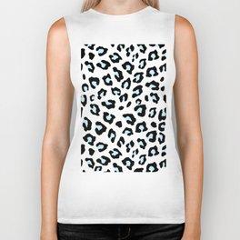 Leopard Print - Icy Peach Biker Tank