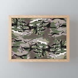 Camo Camo, and the art of disappearing. Framed Mini Art Print