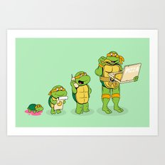 one mutation with extra cheese Art Print