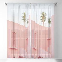 Muralla Roja 1 Sheer Curtain