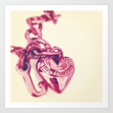 Heart of Juicy Art Print