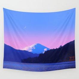 Mount Fuji Sunrise Wall Tapestry