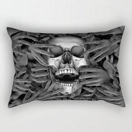 Hell Reclaims It's Own Rectangular Pillow