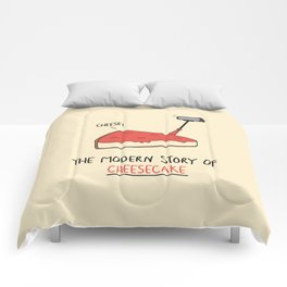 The Modern Story of Cheesecake Comforters