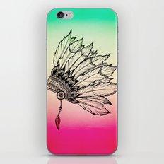 Native American Spiritual Feather Headdress iPhone & iPod Skin