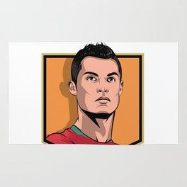 C Ronaldo Rug