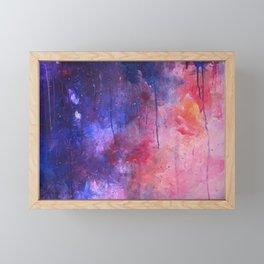 firestorm aria Framed Mini Art Print