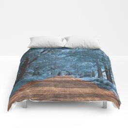 Wye Island Sapphire Road Comforters