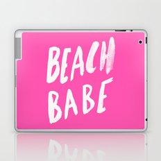 Beach Babe x Flamingo Pink Laptop & iPad Skin