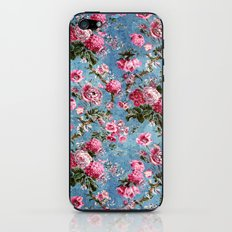 Flowers in the Sky iPhone & iPod Skin